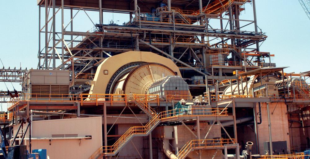 Manta Controls develops unique advanced control systems to help optimize semi-autogenous grinding (SAG) mills.